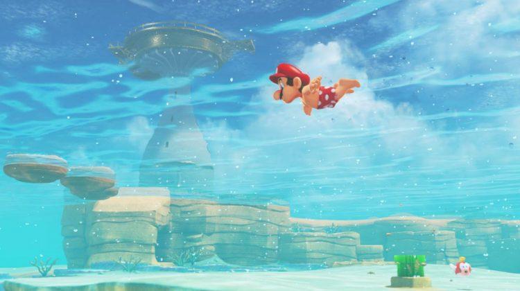 Ο Σούπερ Μάριο της Nintendo επιστρέφει χωρίς μπλούζα!