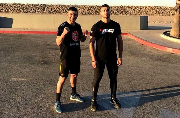 Στην Αμερική για επαγγελματική πυγμαχία Μαβίδης - Καραγιαννίδης