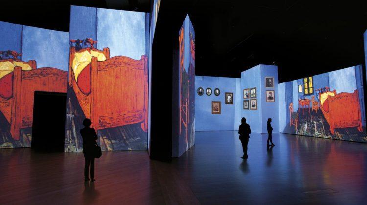 Φαντασμαγορία και υψηλή τεχνολογία στην έκθεση Van Gogh Alive