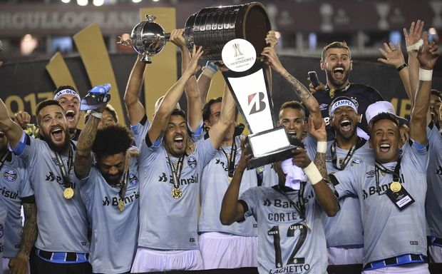Η Γκρέμιο κατέκτησε το Copa Libertadores