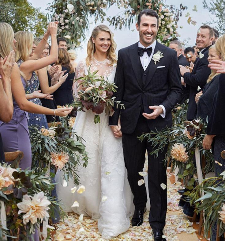 Η Kate Upton δημοσίευσε την πρώτη φωτογραφία από το γάμο της