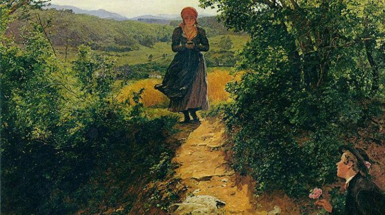 Πίνακας του 1860 φαίνεται να δείχνει γυναίκα να κρατά iPhone