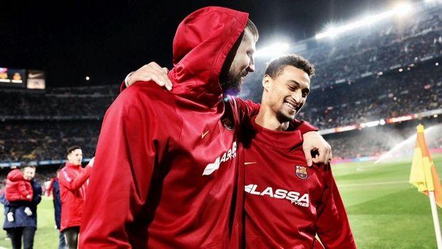 Ο Ναβάρο και η παρέα του στο Camp Nou