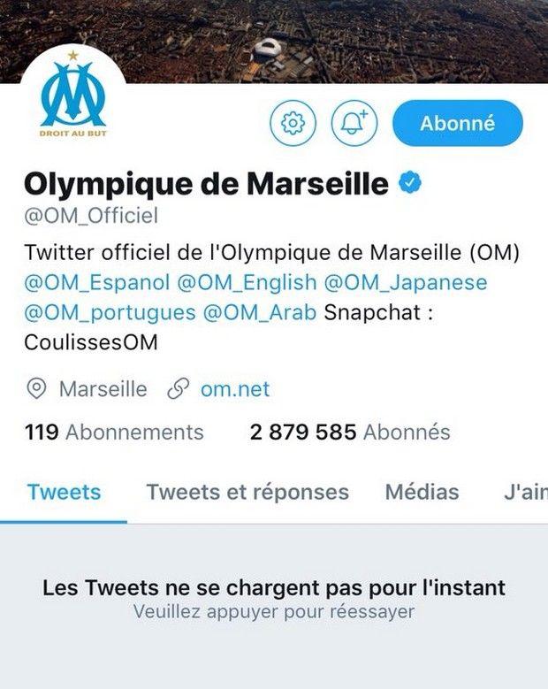 Το twitter έκλεισε τον λογαριασμό της Μαρσέιγ!