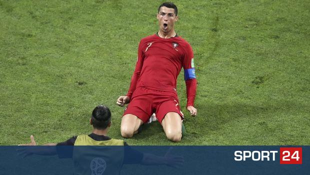 Κριστιάνο Ρονάλντο: Ο γηραιότερος που κάνει χατ τρικ σε Παγκόσμιο Κύπελλο