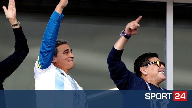 Το μήνυμα στήριξης του Μαραντόνα στην Εθνική Αργεντινής