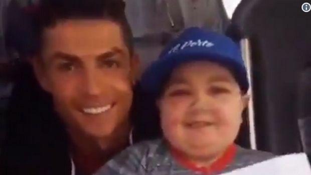 Ο Ρονάλντο προσέφερε απλόχερα το χαμόγελο σε νεαρό θαυμαστή του