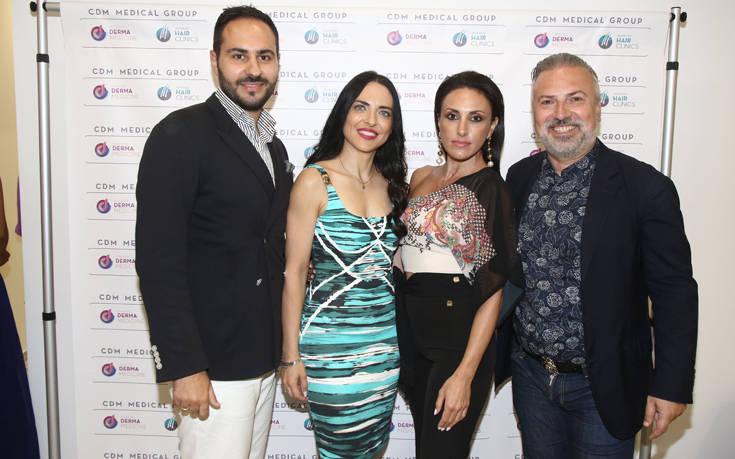 Λαμπερά εγκαίνια της κλινικής Cosmetic Derma Medicine στο Ηράκλειο Κρήτης