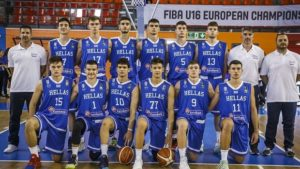 ΕθνικήU16:Για μια θέση στην οκτάδα τουEurobasket