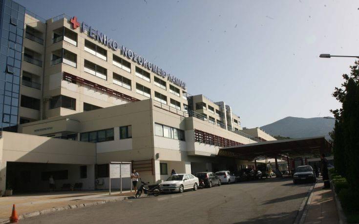 Συναγερμός στο Νοσοκομείο Λαμίας για ύποπτο κρούσμα κορονοϊού