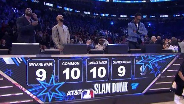 2020 NBA All-Star Weekend: Οι κριτές του διαγωνισμού καρφωμάτων τα έκαναν μαντάρα