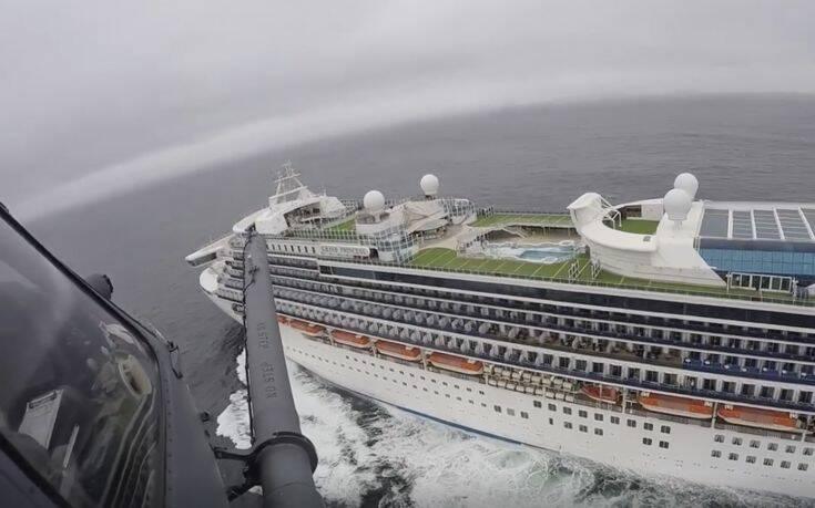 Κορονοϊός: 21 κρούσματα στο κρουαζιερόπλοιο Grand Princess
