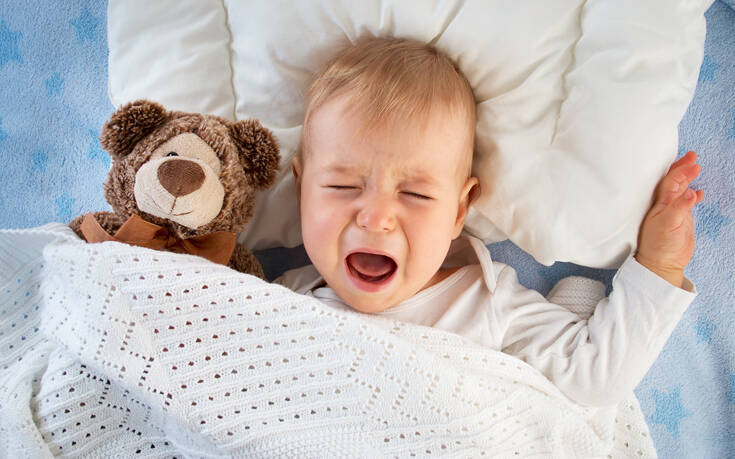 Πώς οι δυσκολίες ύπνου στα μωρά μπορούν να τα επηρεάσουν ως ενήλικες