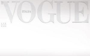 Κορονοϊός: Ο ιδιαίτερος λόγος που το τεύχος Απριλίου της Vogue Italia κυκλοφόρησε με λευκό εξώφυλλο