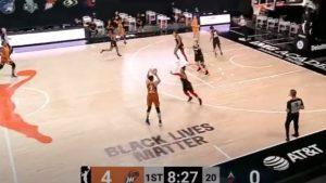 WNBA: Διαστημική Ταουράσι, με τέσσερα τρίποντα πίσω από τα 9 μέτρα